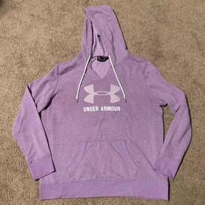 Under Armour Woman's Hoodie Sweatshirt Purple